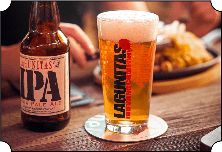 Lagunitas bier - Cafe Fust